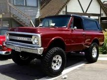 CHEVROLET K-5 BLAZER 1968/1973 in Galveston, Texas