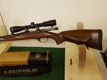 "CZ 527 FS (Full Stock) ""Stutzen"" bolt-action .223 rifle with Leupold Scope in Wiesbaden, GE"
