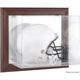 NFL Full Size Helmet Case: NFL Shield Brown Framed Wall-Mountable Helmet Logo Display Case in Okinawa, Japan