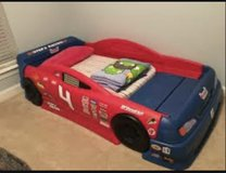 Twin race car bed step 2 in Orland Park, Illinois