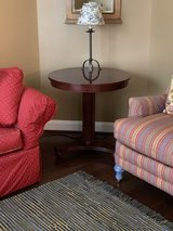 Ethan Allen round accent table in Kingwood, Texas