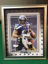 *** SEAHAWKS - Marshawn Lynch 8x10 framed Lithograph *** (NEW) in Fort Lewis, Washington