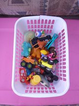 BASKET OF TOYS in Yucca Valley, California
