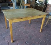 rustic country house table in Spangdahlem, Germany