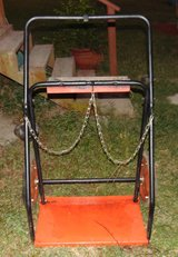 Dual Gas Cylinder Hand Truck Heavy-gauge steel. 24 x 12 nose plate. in Cleveland, Texas