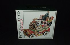 Fitz and Floyd Santa's Mobile Musical Christmas Decoration NEW in Naperville, Illinois