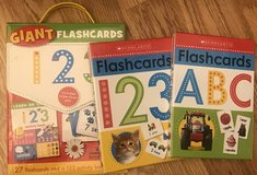 Scholastic flash card set and lacing in Byron, Georgia