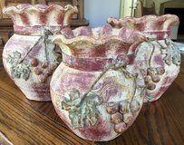 Pottery Home Decor Pottery Mexican Pottery / Set of 3 / New in Cleveland, Texas