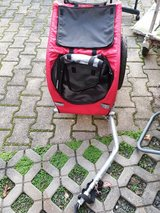 Dog And Cat Bicyle carrier trailer new in Ramstein, Germany