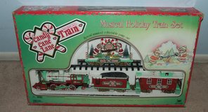 New Bright Candy Cane Lane Musical Animated Christmas Train Set in Naperville, Illinois