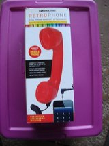 RETROPHONE CELL PHONE HANDSET ATTACHMENT in St. Charles, Illinois