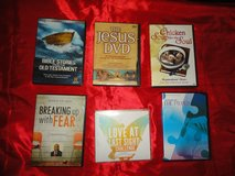 Collection of Spiritual, Religious and Self-help DVD's and CD's - See photos and list. in Spring, Texas