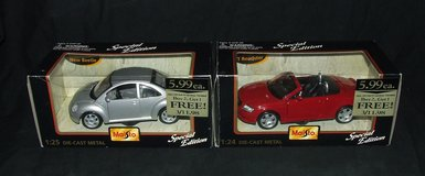 (2) Maisto Special Edition Die-Cast Metal Cars 1:24 Scale NIB ~ Audi & Volkwagen $20 each in Bolingbrook, Illinois