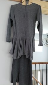 Free with any other purchase - Grey Jersey Dress, Size 8 in Chicago, Illinois