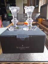 Waterford Crystal candle sticks in Joliet, Illinois