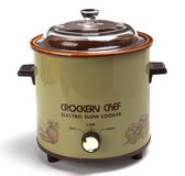 Vintage Crockery Chef Avocado Electric Slow Cooker #5015 in Naperville, Illinois