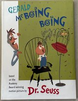 Gerald McBoing Boing by Dr. Seuss Hardcover w/Dust Jacket in Okinawa, Japan