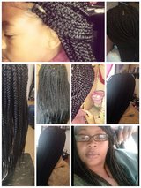 Box braids in Fort Knox, Kentucky