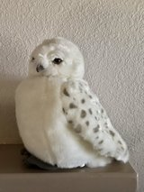 """Wizarding World of Harry Potter Hedwig Owl 11"""" Plush Doll Puppet with Sound Like New in Travis AFB, California"""