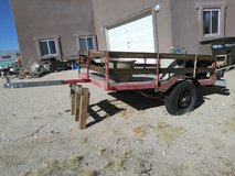 old trailer 6 1/2' x 4 1/2' in 29 Palms, California