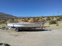 boat trailer for sale, boat is free. in 29 Palms, California