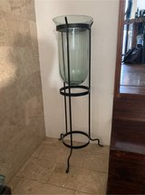 Standing Wrought Iron candle Holder in Okinawa, Japan