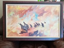 Beautiful quail painting from local artist! in Yucca Valley, California
