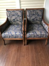 2 CHAIRS BY WALTER M SMYTH in Chicago, Illinois