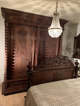"""Bedroom Set - Style Louis XIII """" Hunting Style"""" in Spangdahlem, Germany"""