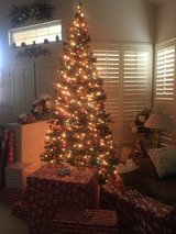 Martha Stewart Christmas tree 9.5ft in Travis AFB, California