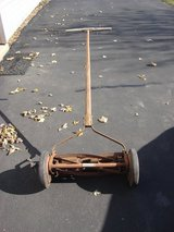 OLD REEL TYPE PUSH LAWN MOWER in Aurora, Illinois