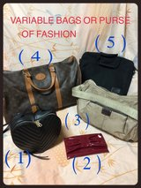 **PURSES OR BACKPACK OF DIFFERENT MODELS # 4 in Okinawa, Japan