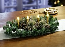 Lots of new Christmas Table Decoration in Ramstein, Germany