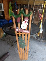 SNOWMAN HOLIDAY DECORATION ( LET IT SNOW) in Naperville, Illinois