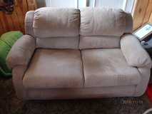 microsuede couch and loveseat REDUCED in Alamogordo, New Mexico
