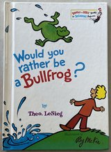 Would You Rather Be a Bullfrog? By Dr. Seuss in Okinawa, Japan