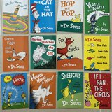 Dr. Seuss Book Covers (12) Laminated in Okinawa, Japan