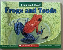 I Can Read About Frogs & Toads Scholastic in Okinawa, Japan
