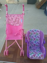toy stroller and baby carrier in 29 Palms, California