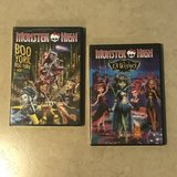 2 Monster High Boo York Boo York Musical & 13 Wishes DVD Brand NEW in Travis AFB, California