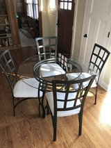 Table with 4 chairs dining kitchen set in Chicago, Illinois