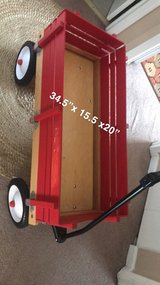 big red wagon. great condition in Chicago, Illinois