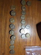 roll of pennies mixed wheat 1920's/1940's in Beaufort, South Carolina