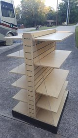 Shelving on wheels in Fort Campbell, Kentucky