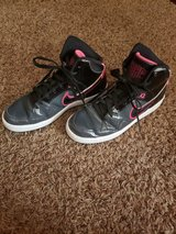 Pink and Black Nike High Tops in Joliet, Illinois