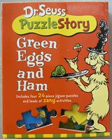 Dr Seuss Green Eggs and Ham Puzzle Story (Dr Seuss Puzzle Story) in Okinawa, Japan