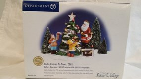 Dept. 56 - Santa Comes To Town, 2001 in Chicago, Illinois