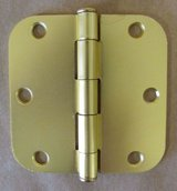 Steel Hinges - Satin Brass 6 boxes (pairs) in Spring, Texas
