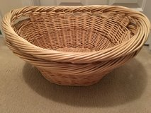 2-Large Oval Wicker Laundry/Storage Baskets in Camp Lejeune, North Carolina