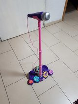Children Stand Microphone in Ramstein, Germany